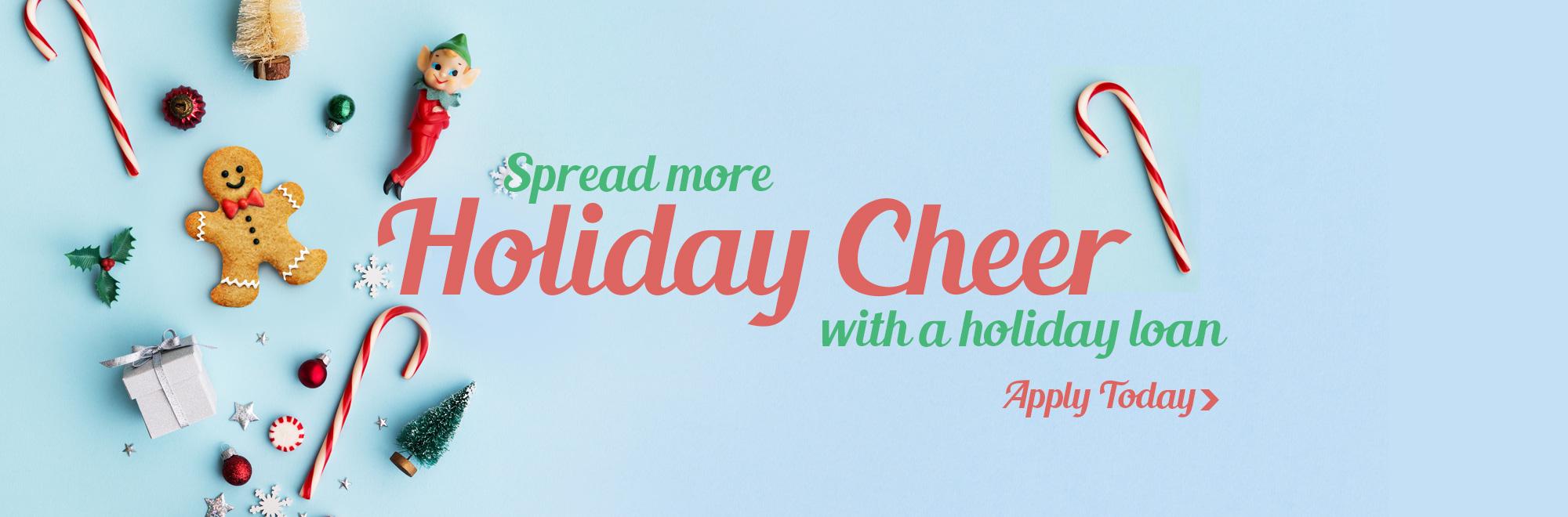 holiday cheer banner